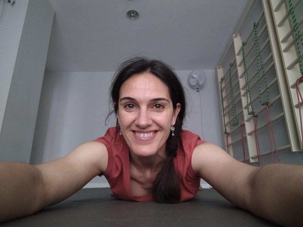 Pilar Losada profesora de yoga de Centro Mushin