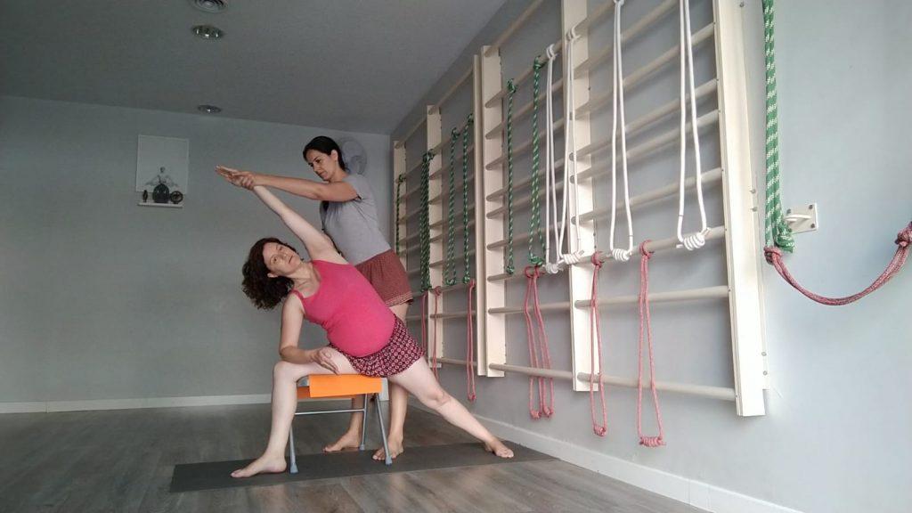 Cómo son nuestras clases de yoga prenatal