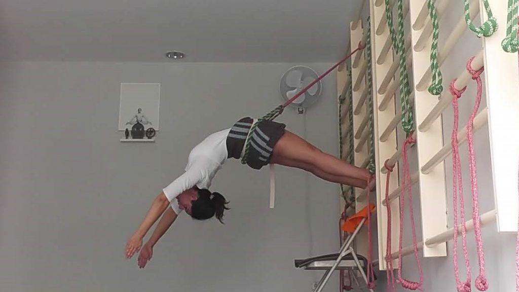 uso de soportes en Yoga Iyengar